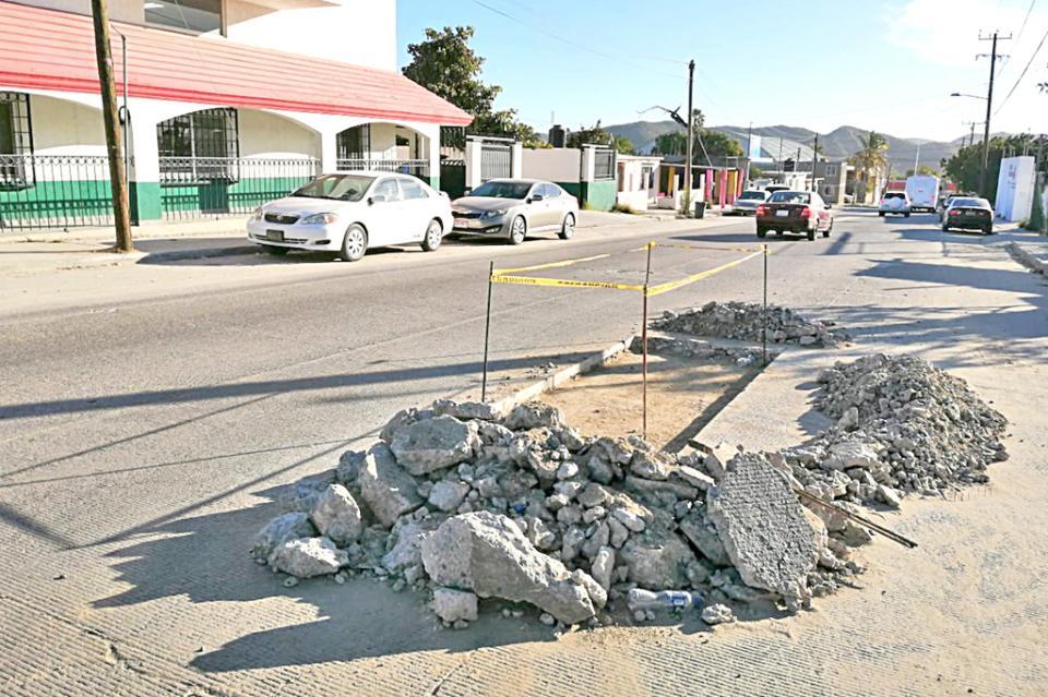 Pide Obras Públicas a la ciudadanía tenga paciencia en los trabajos de bacheo