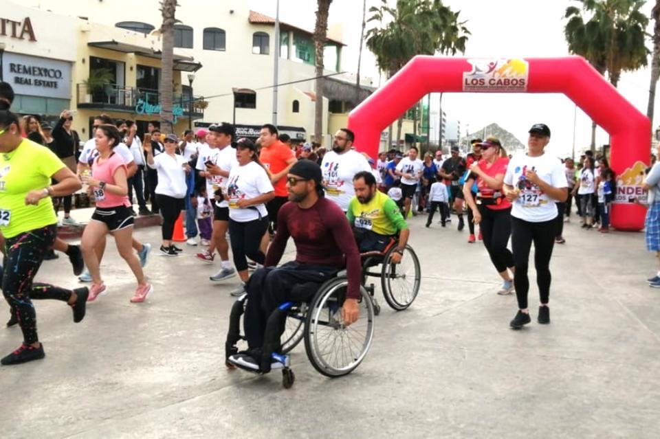 Gran aceptación a la Segunda Carrera de la Amistad y la Inclusión en Los Cabos