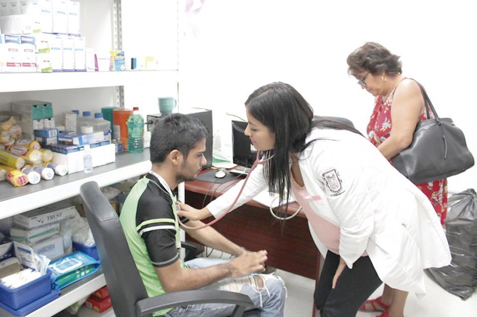 Consultorios médicos  municipales brindan consulta y  medicamentos gratuitos