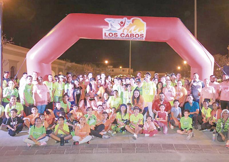 Más de 400 participantes en la exitosa Carrera Neón: Perla Lizeth