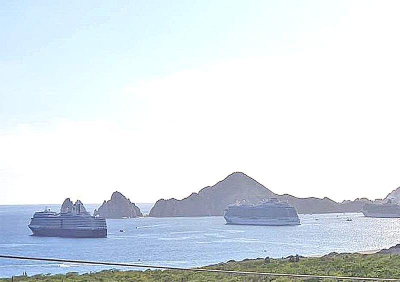 Recibirá Cabo San Lucas 3 triples arribos de cruceros y 5 dobles para marzo