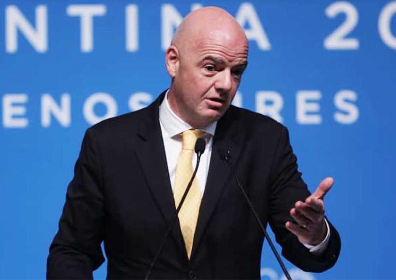 El presidente de la FIFA anuncia su visión para el período hasta 2023