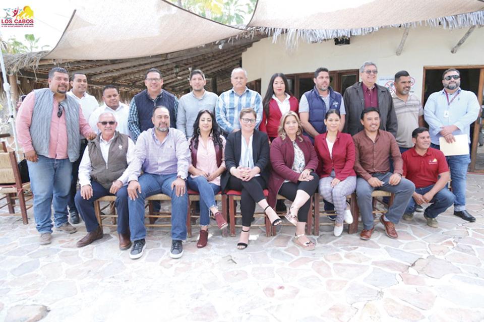 Gobierno de Los Cabos y La Paz tratan tema del Relleno Sanitario en Buenavista