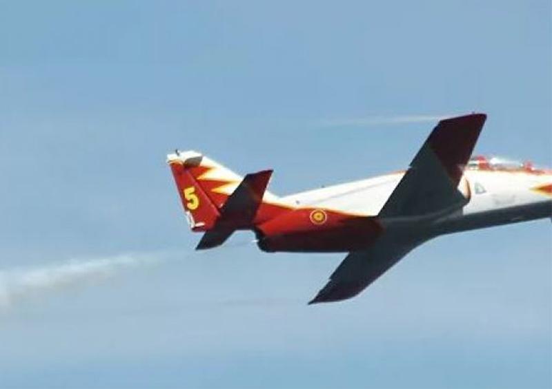 Avión militar se estrella en área española del Mediterráneo