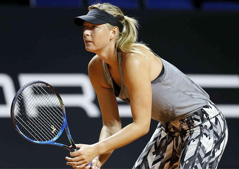 Se retira la tenista Maria Sharápova