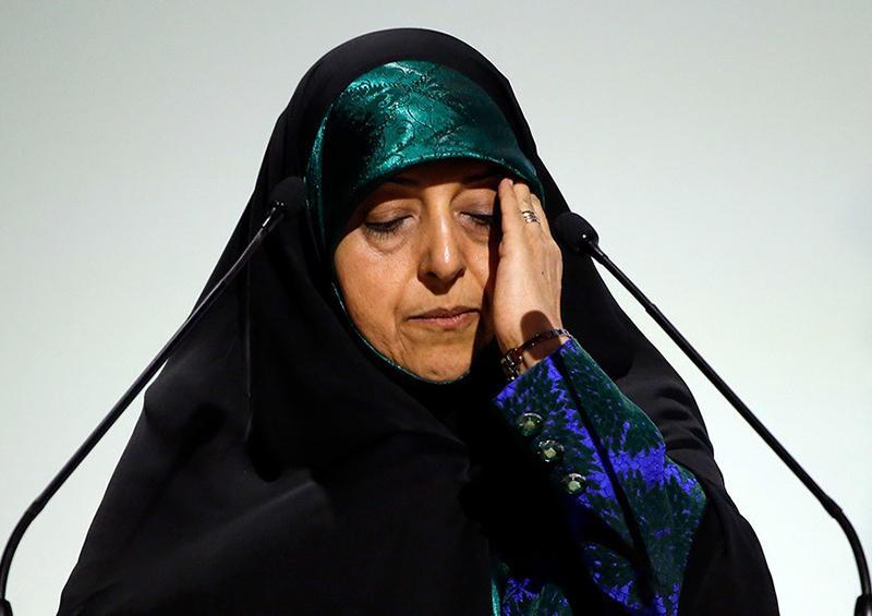 La vicepresidenta de Irán se contagia de coronavirus