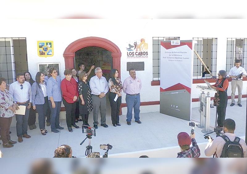 Rehabilitan biblioteca pública de Miraflores