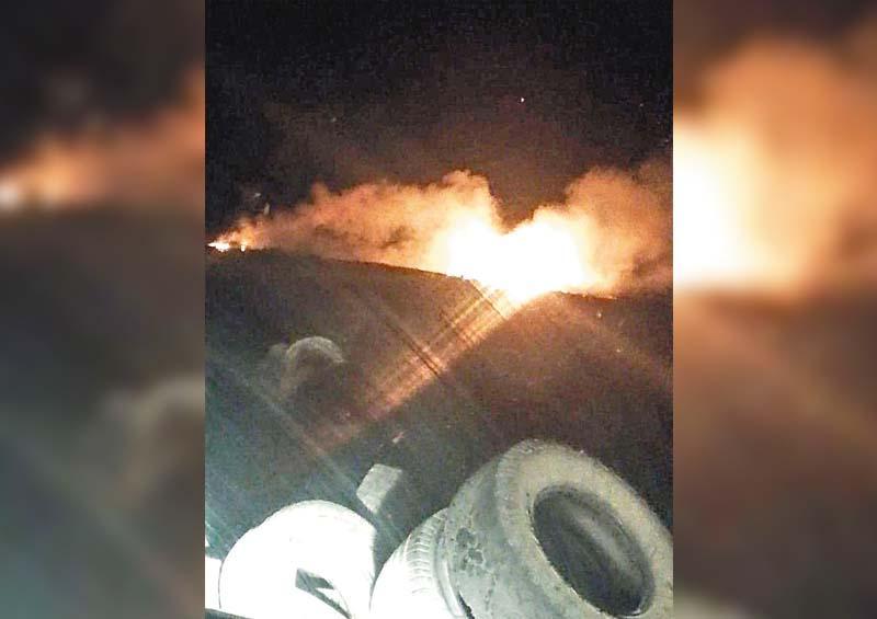 Afecta a vecinos de Buenavista incendio de basurero