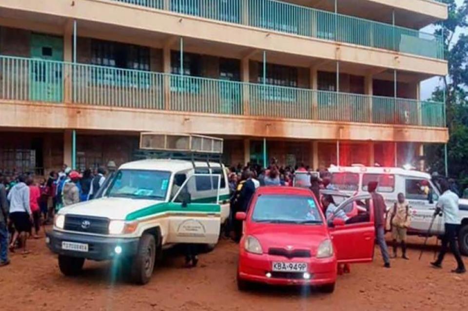 14 muertos tras estampida en escuela de Kenia