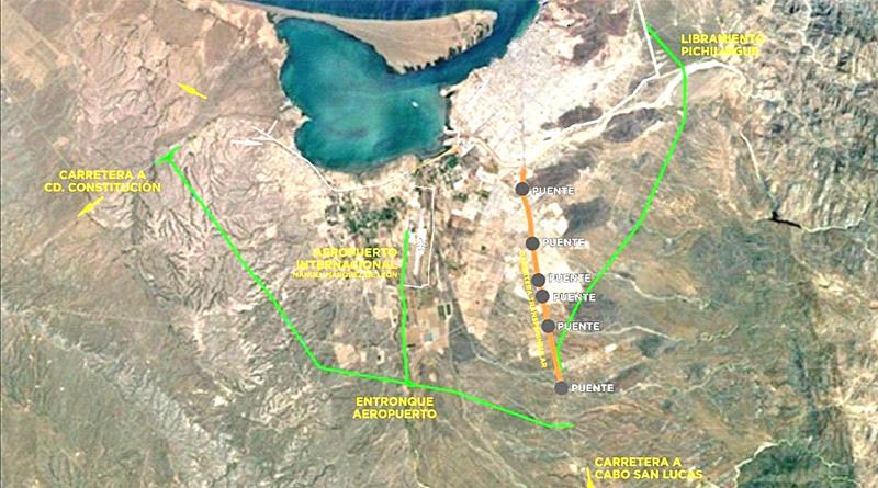 Libramiento Sur-Poniente en La Paz estaría cerca de concretarse
