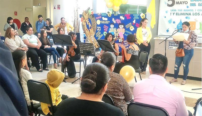 Realiza hospital Salvatierra evento de concientización sobre el cáncer infantil