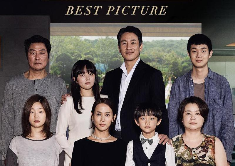 Parásitos gana como Mejor Película en los Oscar 2020