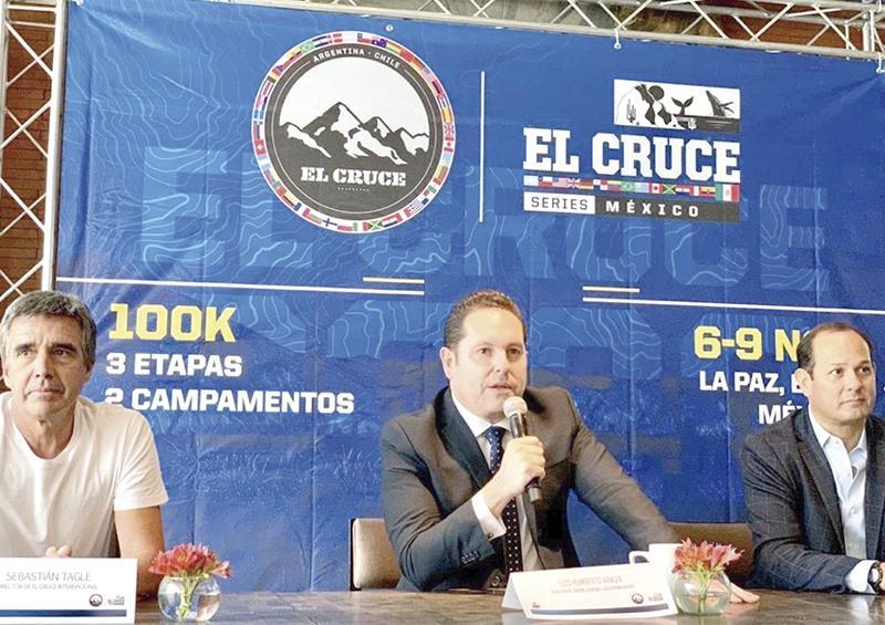 """Será La Paz sede del """"El Cruce México"""""""