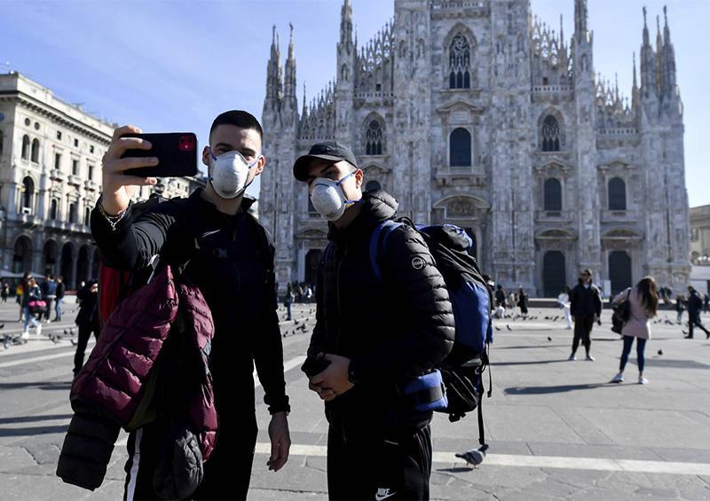 Peleas en los supermercados y ciudades vacías: COVID-19 en Italia