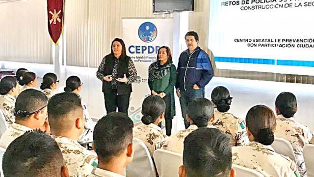 Imparten curso de seguridad ciudadana a elementos de Sedena