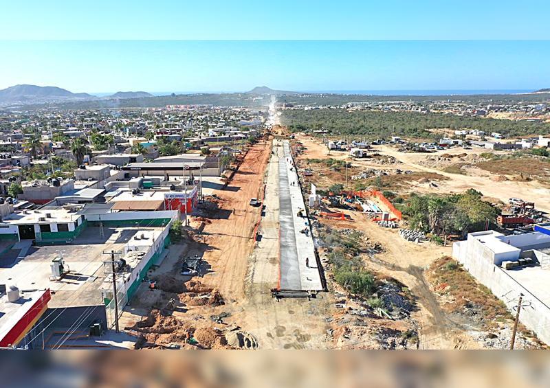 Continúan trabajos de rehabilitación y mantenimiento de la avenida Nicolás Tamaral