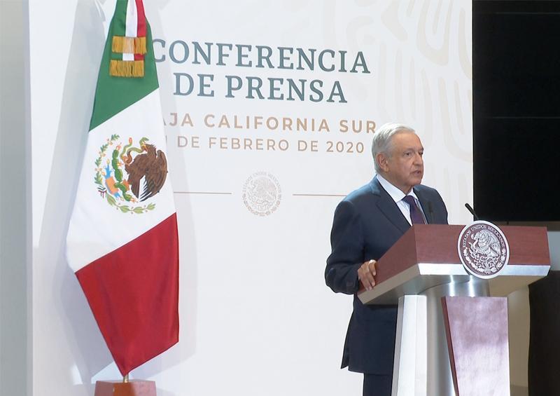 Promete Andrés Manuel López Obrador construcción de termoeléctrica para solucionar los apagones, estará lista en 2023