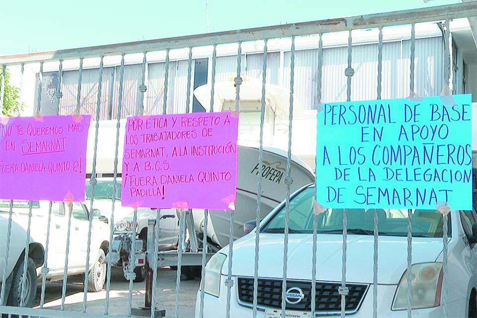 Toman instalaciones de Conagua y Profepa en solidaridad con sindicalizados de Semarnat