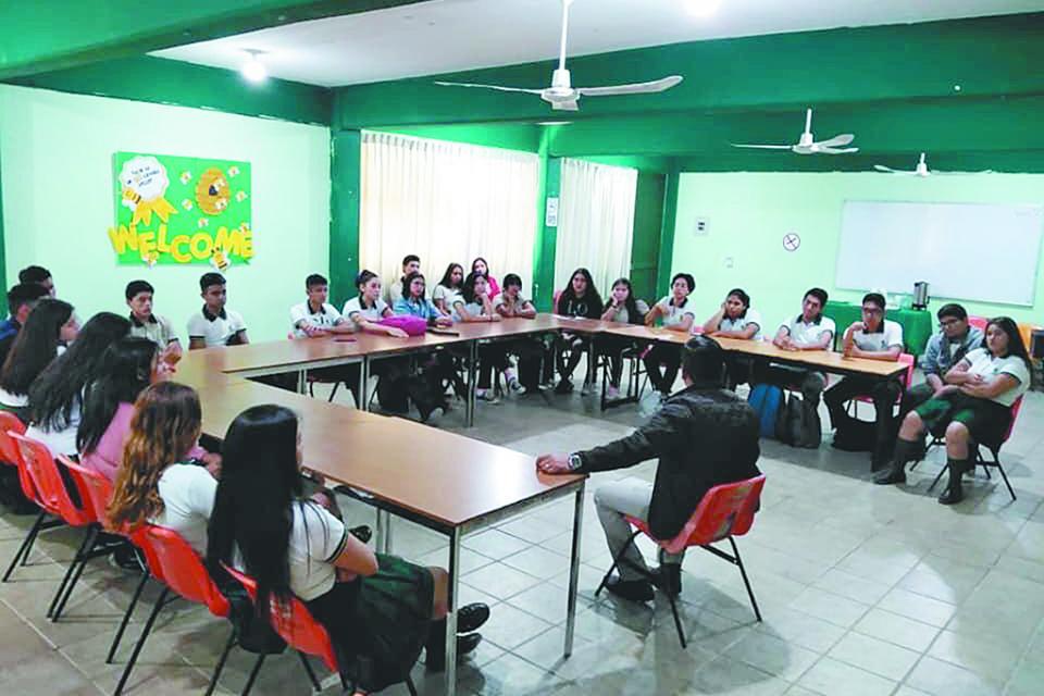 Implementarán programas de  seguridad en Cobach San José  del Cabo, indica Director estatal