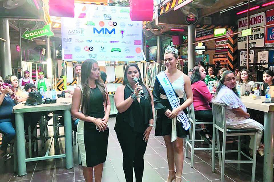 Alza la voz Miss Los Cabos 2019, ya no más violencia para la mujer