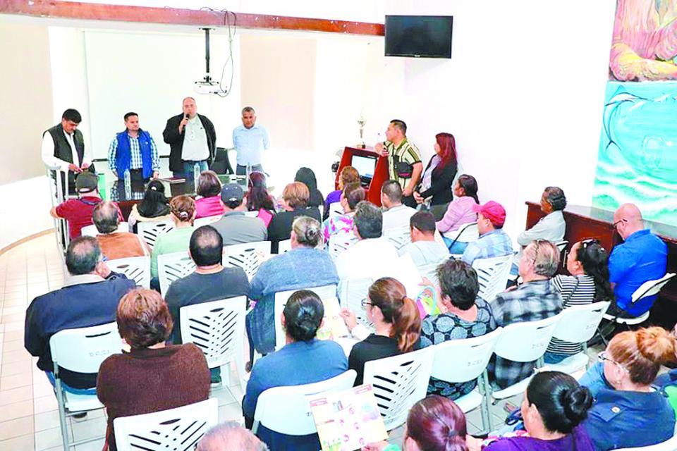 Ofrecen plática a la ciudadanía sobre el nuevo Sistema de Justicia Cívica en CSL