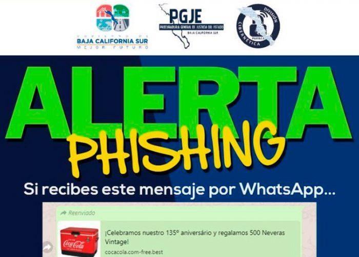 La Policía cibernetica alerta de nueva forma de robo en BCS