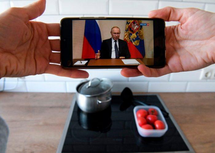 Putin declara asueto laboral por el coronavirus y pospone votación