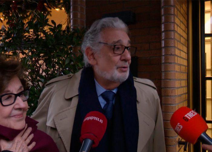 Plácido Domingo fue dado de alta, tras ser hospitalizado por COVID-19