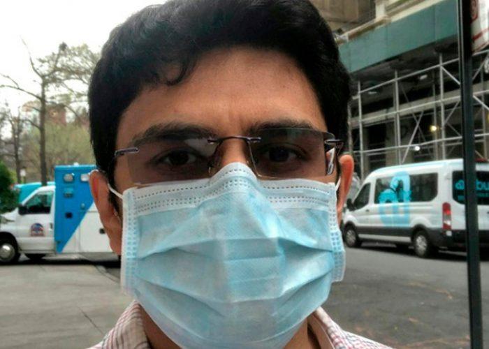 El peor escenario por coronavirus esta por venir: Médico de Nueva York