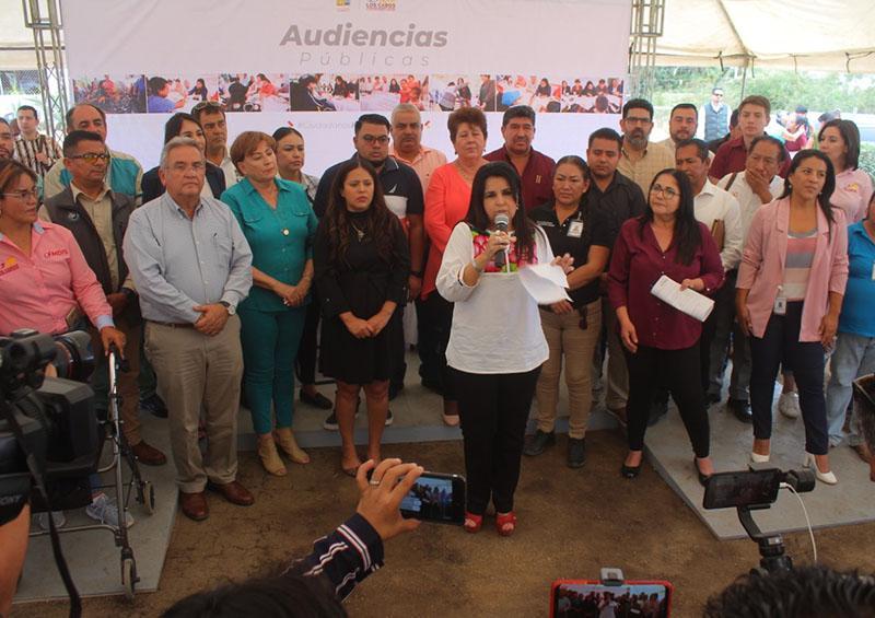 Concluyen audiencias públicas con 1 mil 253 atenciones en el rincón de La Playa