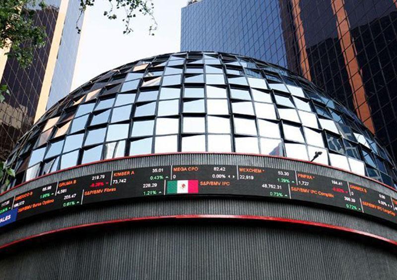 Abre Bolsa Mexicana con baja de 0.02 por ciento