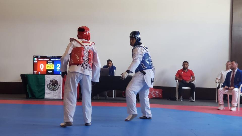 Sin público inició este martes Preolímpico Continental de Taekwondo