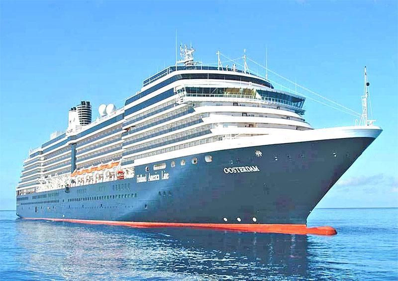 Llegará a este puerto el crucero Oosterdam debido a que no tiene dónde anclar en los Estados Unidos