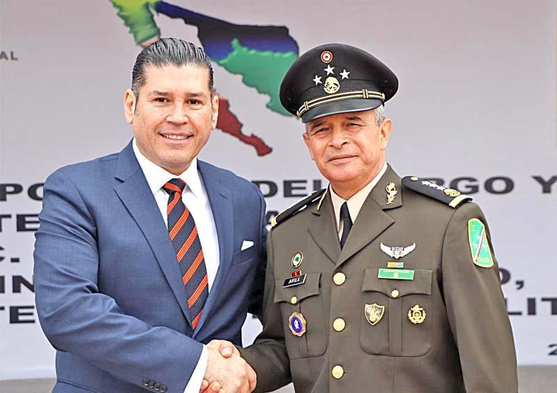 Reitera Gobierno del Estado voluntad y disposición de seguir trabajando en coordinación con Fuerzas Armadas