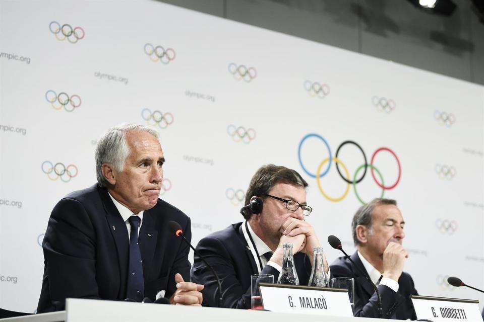 Comité Olímpico Italiano suspende eventos deportivos hasta 3 de abril