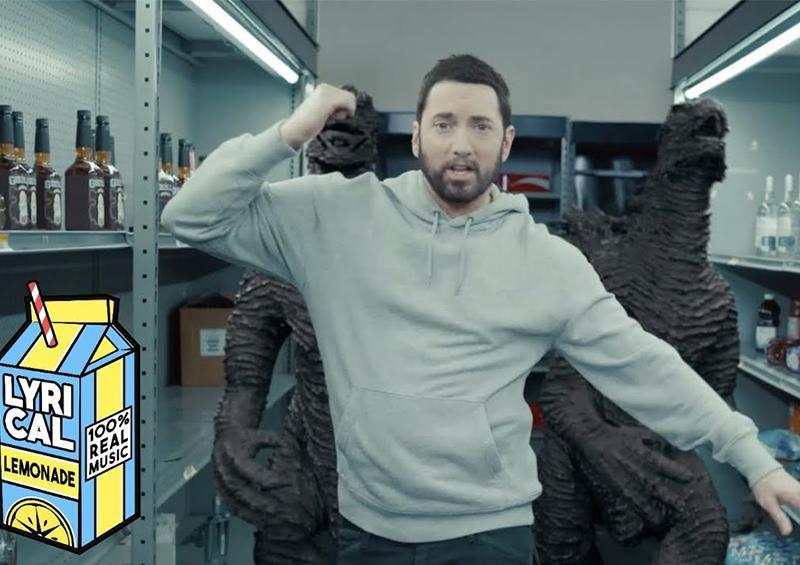 Mike Tyson 'noquea' a Eminem en su nuevo vídeo musical