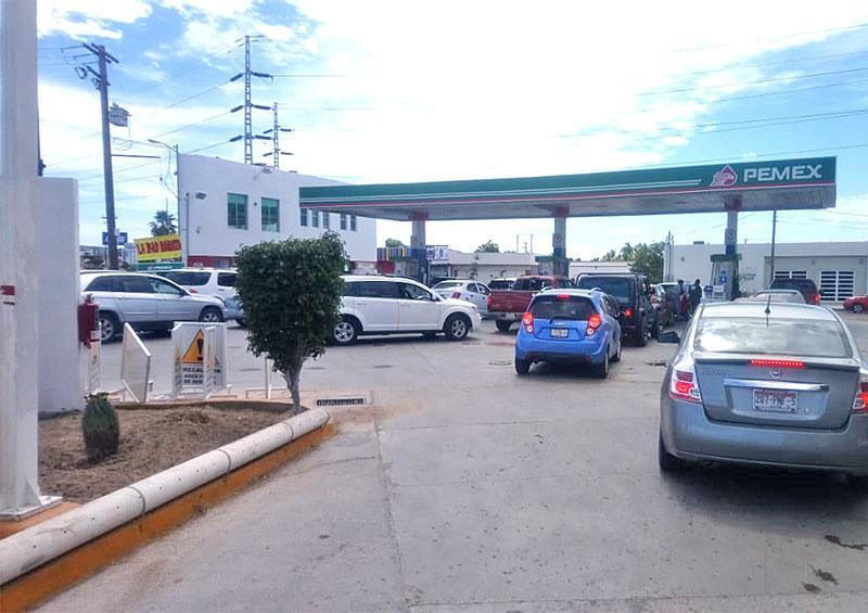 Registra La Paz este fin de semana el precio más barato en combustibles