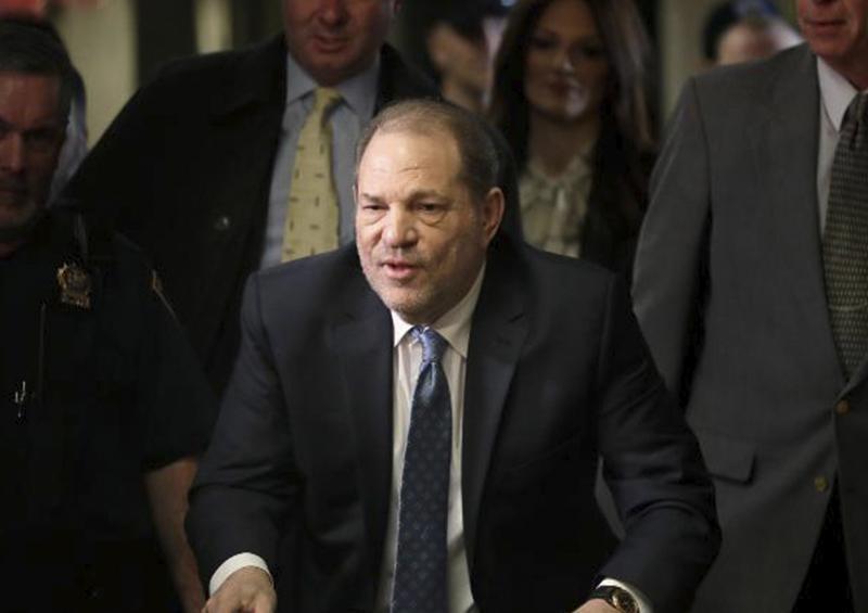 Harvey Weinstein podría ser sentenciado a 29 años de prisión