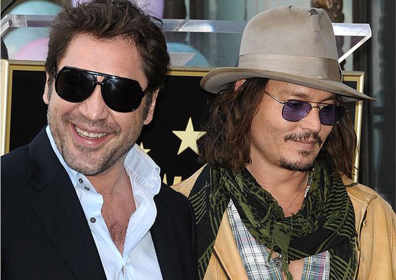 Javier Bardem apoya a Johnny Depp en demanda contra Amber Heard
