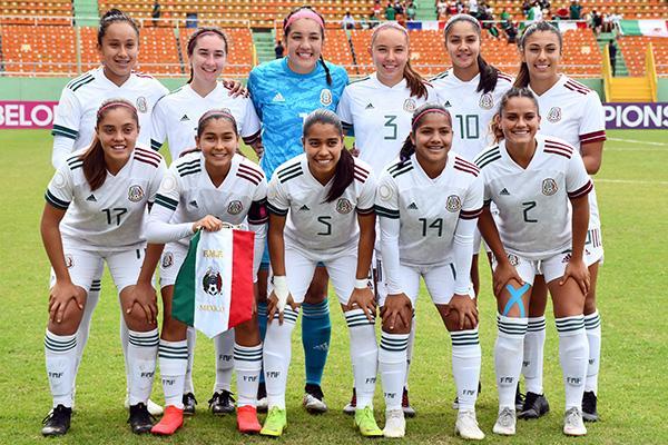 México por el pase a semifinales del Premundial Femenil sub 20