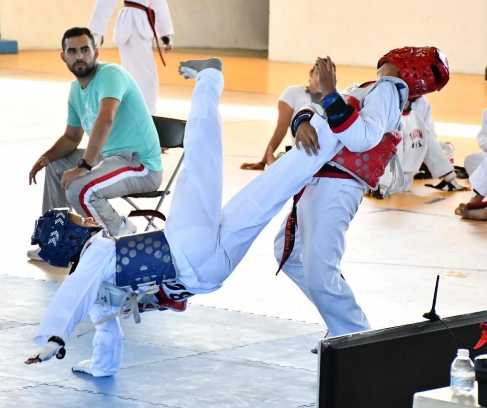 Grandes resultados del Taekwondo de BCS en Regional