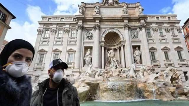 Italia registra 41 decesos y 590 nuevos casos del coronavirus en las últimas 24 horas