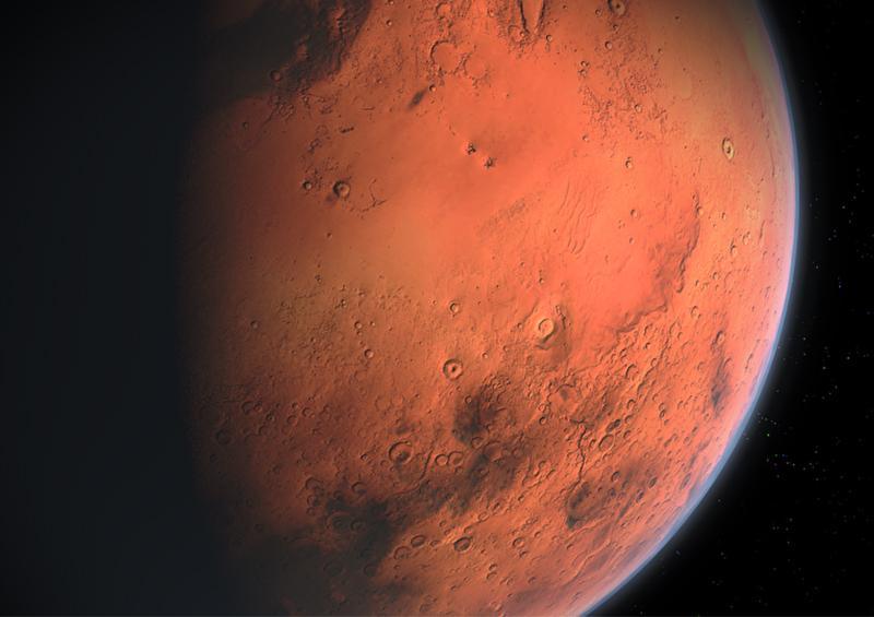 ¿Cómo ha surgido este inusual agujero en Marte?