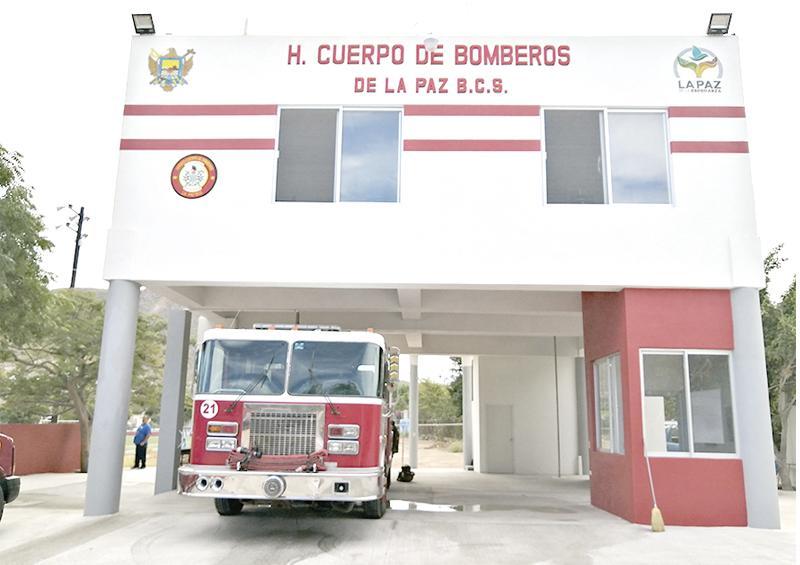 Inauguran Subestación de Bomberos en colonia Navarro Rubio