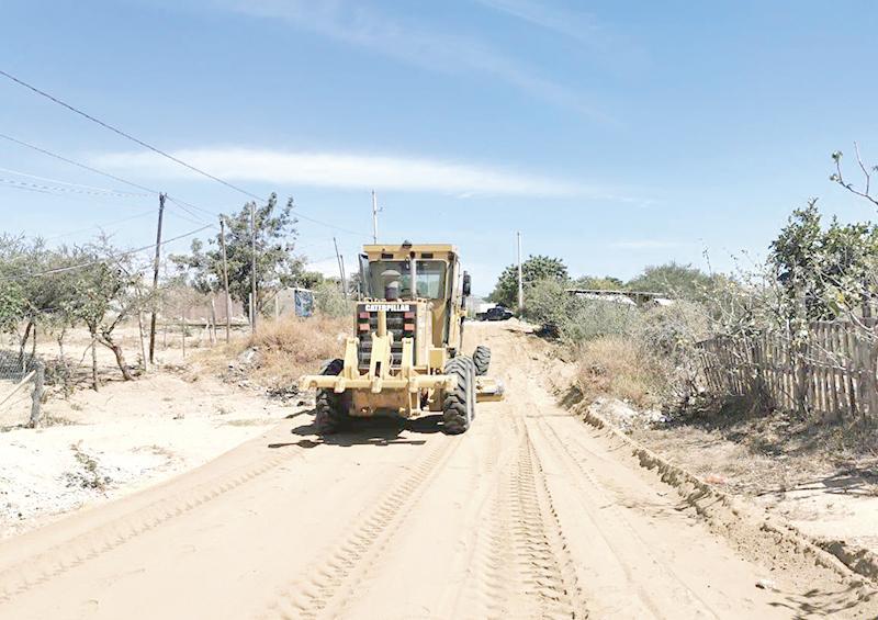 Avance del 85% en rehabilitación  de vialidades en Los Cabos:  Servicios Públicos