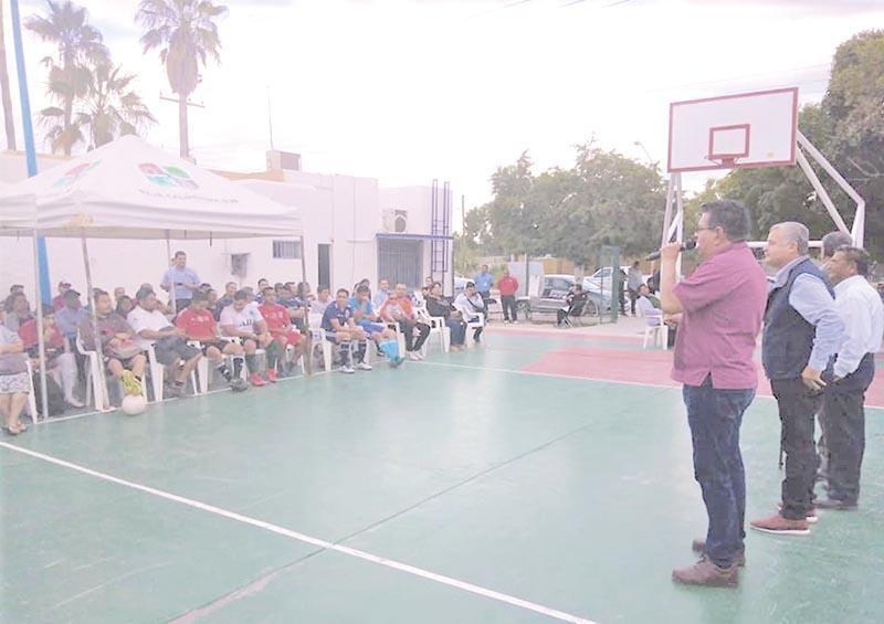 Entregan obra de rehabilitación en parque público de El Centenario