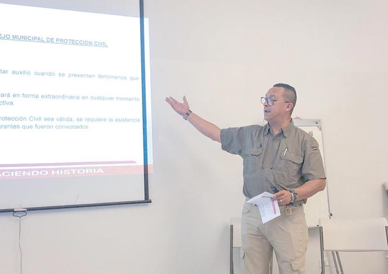 Implementa Protección Civil Los Cabos medidas preventivas dentro de sus instalaciones
