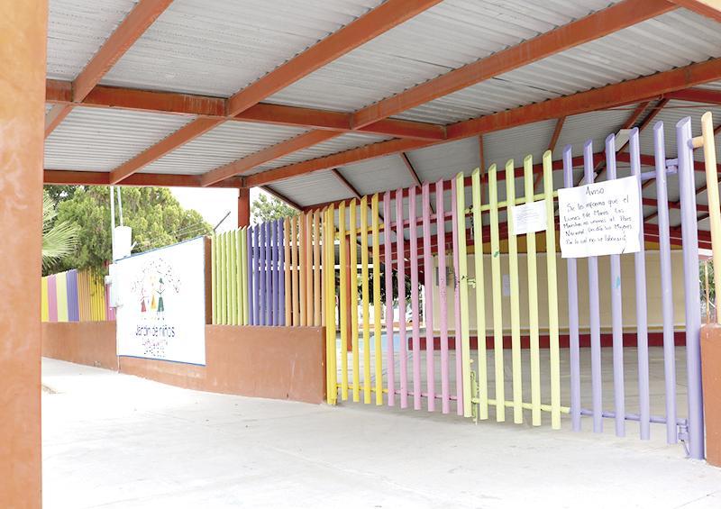 """Suspenden clases el 70 por ciento de preescolar por """"El 9 Nadie se Mueve"""" en BCS"""