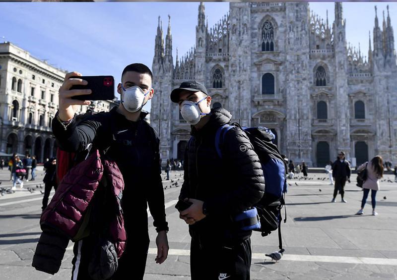 El número de contagiados con el coronavirus en Italia supera 5.000