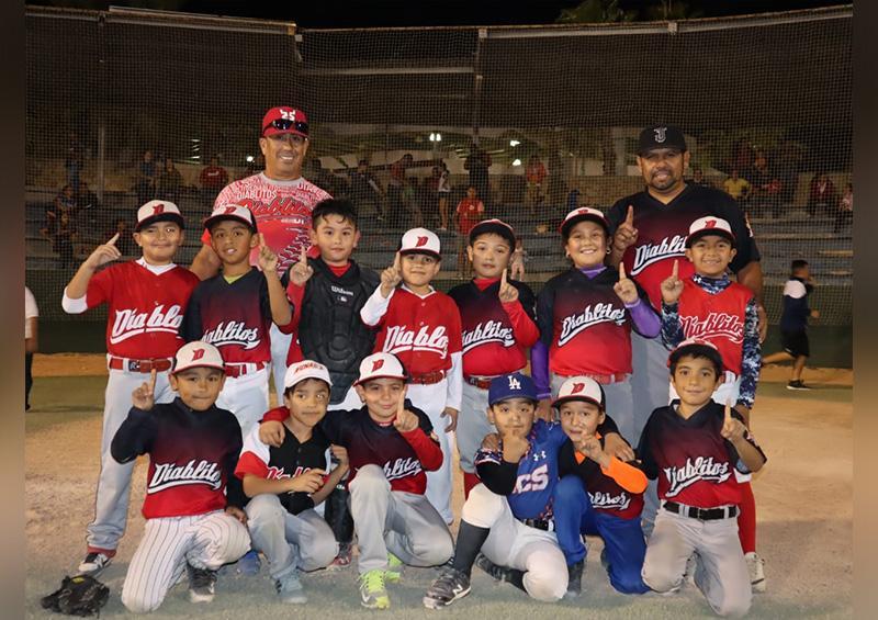 Diablitos de Cabo San Lucas se proclamó campeón del beisbol U8